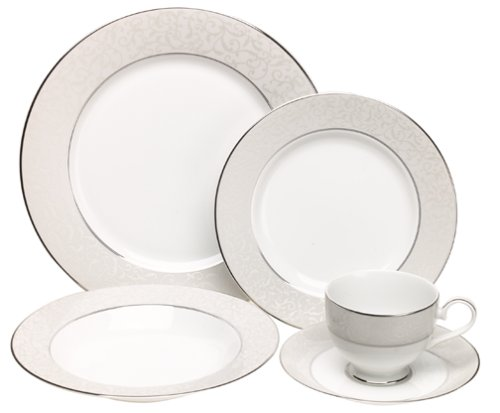 Mikasa Parchment 5-Piece Place Setting, Service for 1