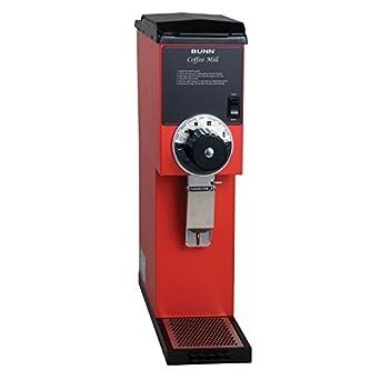 BUNN 22100.0001 G3 Bulk Coffee Grinder, Red
