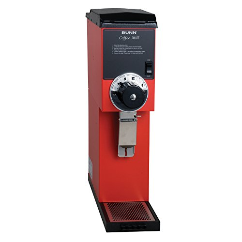 BUNN 22100.0001 G3 Bulk Coffee Grinder, Red