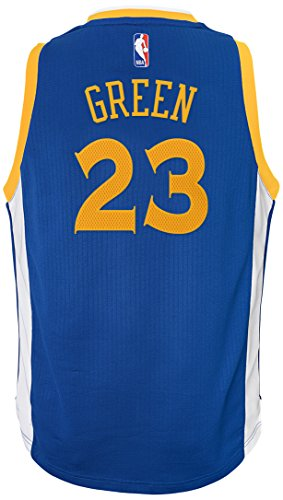 NBA Golden State Warriors Draymond Green Boys Player Swingman Road Jersey, Small (8), Blue by NBA by Outerstuff
