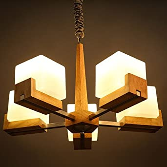 ssby japanese style wooden chandeliers scandinavian bedroom living