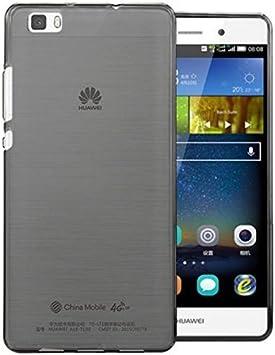 PREVOA Transparent Silicona TPU Funda Cover Case para Huawei P8 ...