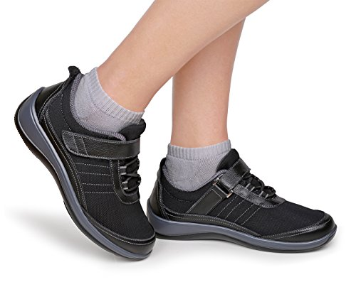 Ortofetto Brezza Comfort Estensibile Scarpe Da Camminata Per Donna Diabetica Ortopedica