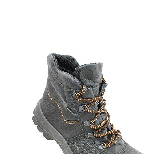 Lupriflex UK S3 Sicherheitsschuhe Arbeitsschuhe Trekkingschuhe hoch Schwarz Schwarz