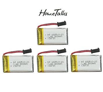 Hometalks ® JJRC 7.4V 500mAh reemplazo de la batería de Lipo para ...