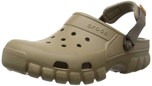crocs Unisex Offroad Sport Clog,  Khaki/Walnut, 11 M (D) US Men's/13 M (B) US Women ()