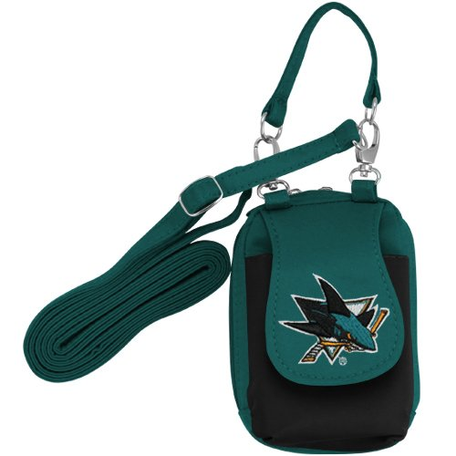 NHL San Jose Sharks Women's Purse Plus with Touch Screen - Teal/Black
