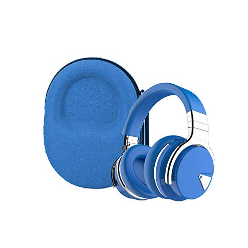 Aenllosi Hard Carrying Case for COWIN E7 E7 PRO Active Noise Cancelling Headphones Bluetooth Headphones Blue