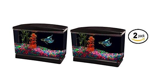Aqua Culture .5-Gallon Fish Tank, 9.75''L x 3.80''W x 6.25''H - Pack of 2 by Aquaculture