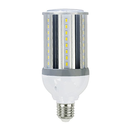 Lumina BWRL-18W-A High-Powered LED Corn Bulb (UL & DLC), 18Watt 2160LM (175-200W Incandescent / 60-65W CFL / 55-60W HID/MHL/HPS Replacement), 5000K Daylight(Cool White), Medium Base (E26), AC100-277V (55w Power Supply)