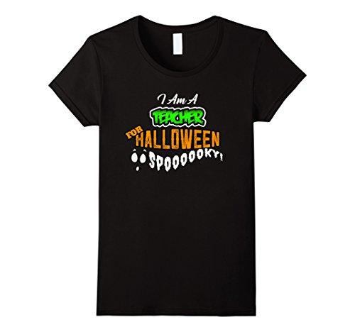 Womens Teacher Funny DIY Cheap Halloween Costume Supplies Medium (Cheap Vampire Costumes)