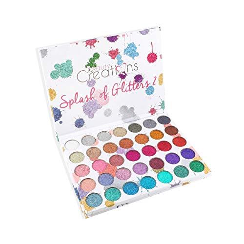 Beauty Creations Cosmetics Splash Of Glitters Palette 2