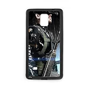 metal Gear Solid Samsung Galaxy Note 4 Cell Phone Case Black SA9745863