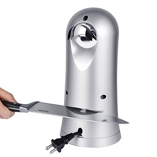 Electric Can Bottle Opener Opener for Smooth Edge Can Chrome Coating