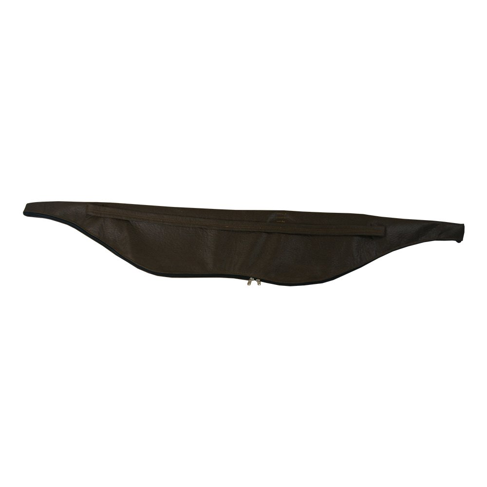 Tiro con arco funda arco tradicional recurvo para la caza arco largo 53pulgadas de piel sintética bolsa/58inch marrón Tongtu Outdoor