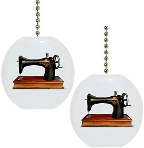 Juego de 2 Antiguo de máquina de coser Solid de cerámica Tiradores ...