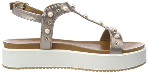 Inuovo Bar 16780156 Sandals Pewter T Women's 8737 Silver wtxRr0wHZq