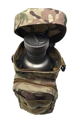 Valtcan Tactical Molle Bags Water Bottle, Mobile Phone, and Camping Hiking Pouches 3 Pack Set by Valtcan (Image #3)