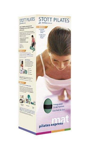 Stott Pilates Express Pilates Mat DVD Gift Pack (Green Mat)