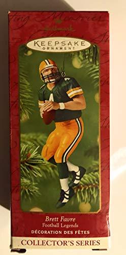 2001 Brett Favre Football legends Hallmark Keepsake Ornament