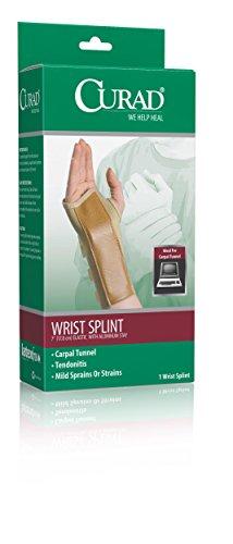 - Medline ORT19100RMD Curad Elastic Wrist Splints, Medium (Case of 4)