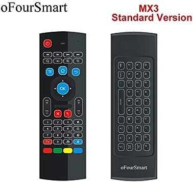 Calvas - Teclado inalámbrico QWERTY para Smart TV Box T95Z Plus/X96 Mini Projector (2,4 G, incluye mando a distancia): Amazon.es: Bricolaje y herramientas