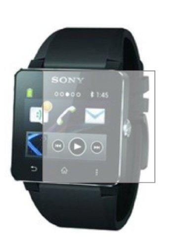 3 x Membrane Protectores de Pantalla para Sony Smartwatch 2 II - Transparente, Embalaje y accesorios