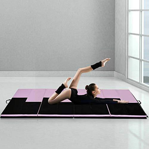 Stark Item 4'x10'x2 Gymnastics Mat Folding Portable Exercise Aerobics Exercise Gym Fitness