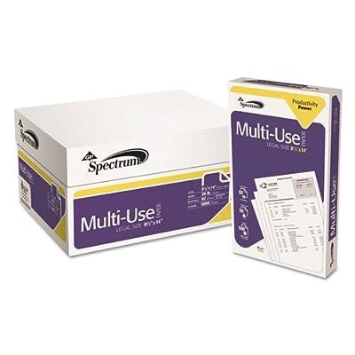 Georgia Pacific Spectrum Standard 92 Multipurpose Paper, 20lb, 8-1/2 x 14, White, 5000 Shts/Ctn