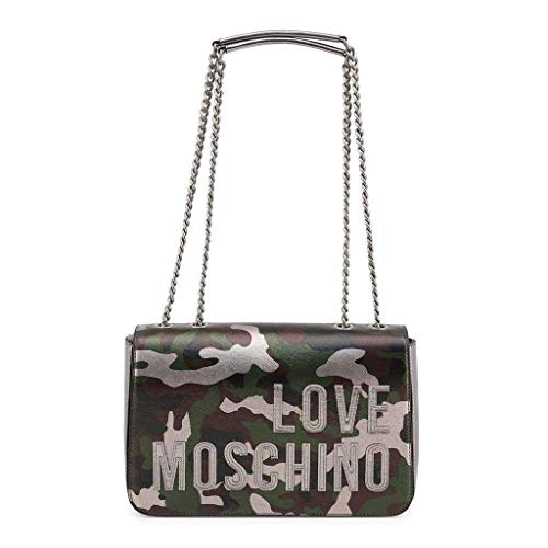 Borsa Patta Tracolla Con Moschino Love A Camouflage Pk0O8Xnw