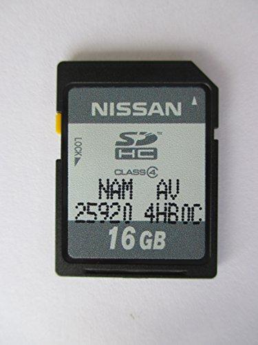 4HB0C 2014 2015 INFINITY Q50 SD NAVIGATION CARD , OEM PART # NISSAN NAN AV 25920-4HB0C SDHC 16 GB
