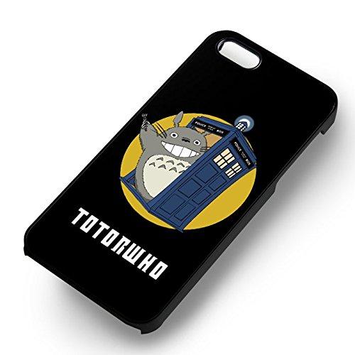 TotoroWho 221B pour Coque Iphone 6 et Coque Iphone 6s Case (Noir Boîtier en plastique dur) T4P5ZQ
