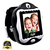 Durable Smart Watch for Kids, Digital Video Games Built in Selfie-Camera Watches, Electronics Educational Toys Kids Camera, Gadgets Games for Kids Ages 4-8 Girls Boys