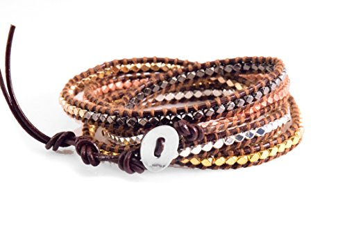 mix-nugget-wrap-bracelet-metal-beads-handmade-in-a-brown-leather-5-layers-fashion-woven-bangle