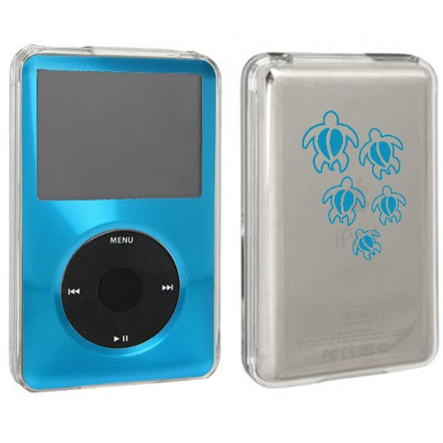 Light Blue For Apple iPod Classic Hard Case Cover 6th 80gb 120gb 7th 160gb Swimming (Blue Ipod Classic 160 Gb)