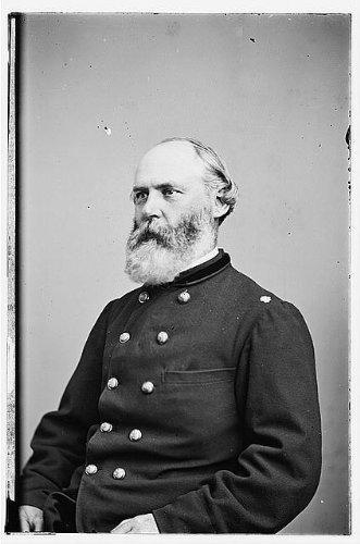[Photo: Lieutenant Colonel James M. Sanderson,Prison,troops,soldiers,personnel,1860] (Sanderson Quilt)
