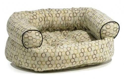 Milano Microvelvet Double Donut Bed (MEDIUM) (Donut Double Microvelvet Bed)