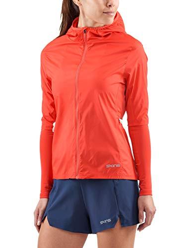 Skins Enigineered Jacket Coral Activewear Fabricant FemmeFrMtaille Red Fm Gylle Womens Wind TKuFJ1lc3
