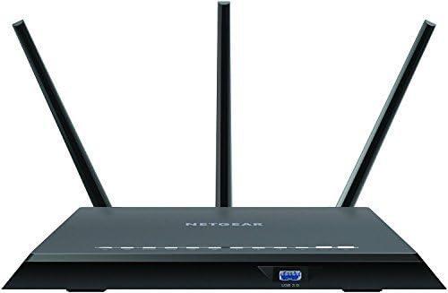 GigE Wireless router Dual Band 4-port switch 802.11a//b//g//n//ac Netgear R7000-100NAS Nighthawk R7000