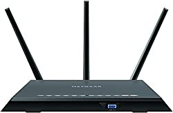 Netgear R7000-100nas Nighthawk R7000 - Wireless Router - 4-port Switch - Gige - 802.11abgnac - Dual Band