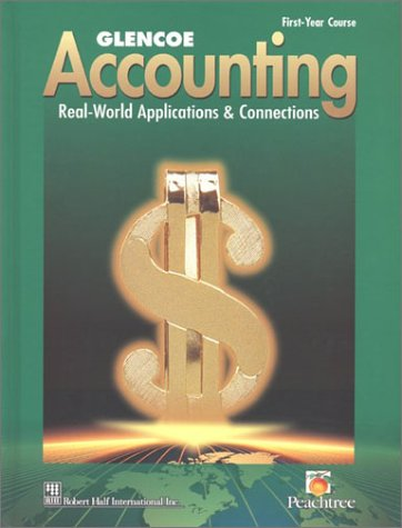 Accounting real world applications and connections pdf