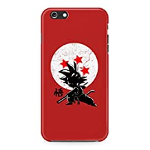 Dragon Ball Z Young Son Goku Hard Plastic Snap-On Case Cover For iPhone 6 / iPhone 6s