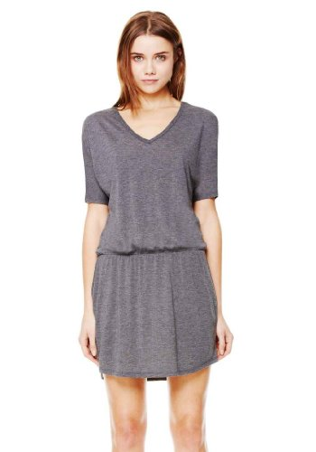 Bella - Ladies' Flowy Blousy V-Neck Dress - 8812