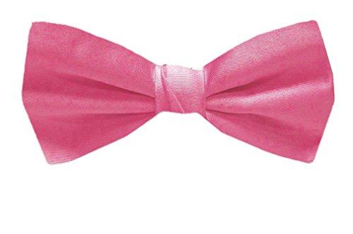- B-PBT-ADF-21 - Bubble Gum Pink - Pre-Tied Solid Bowtie