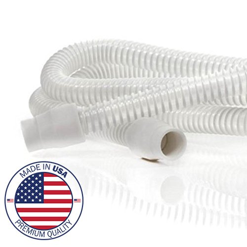 Cpap Hose Support (Original Vaunn Medical Ultra-Light White Hi-Performance CPAP and BIPAP Tubing with Ergonomic Cuff (Made in USA))