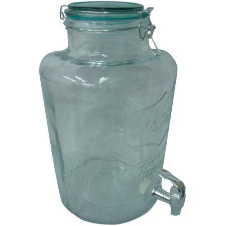 slimline glass beverage - 6
