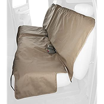 Canine Covers Econo Plus 2nd Row Semi-Custom Fit Seat Protector - Polycotton (Tan)