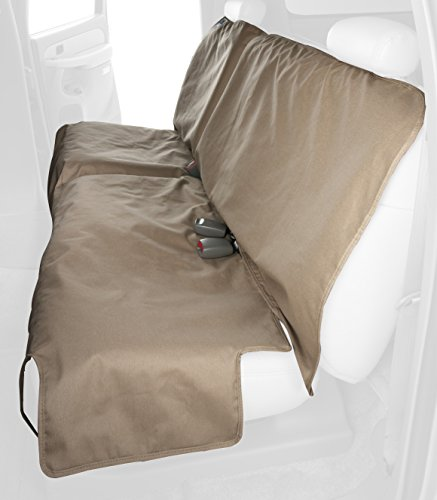 (Canine Covers Econo Plus 2nd Row Semi-Custom Fit Seat Protector - Polycotton (Tan))