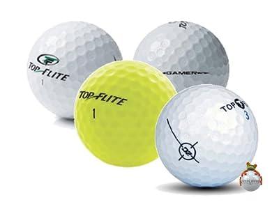 100 AAA Top-Flite Mix Used Golf Balls