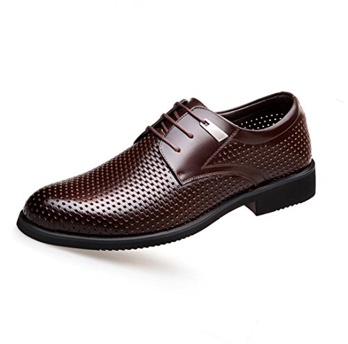 dentelle Chaussures sangle sandales hommes hommes brown Derby costume en pour pour WSK professionnel chaussures chaussures creux hommes en respirant Chaussures cuir ZPFPw8